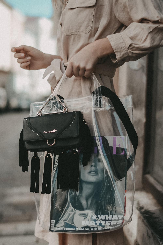 Transparenter Shopper