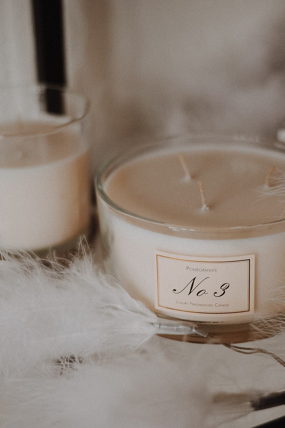 Luxury fragranced candle by HOFER