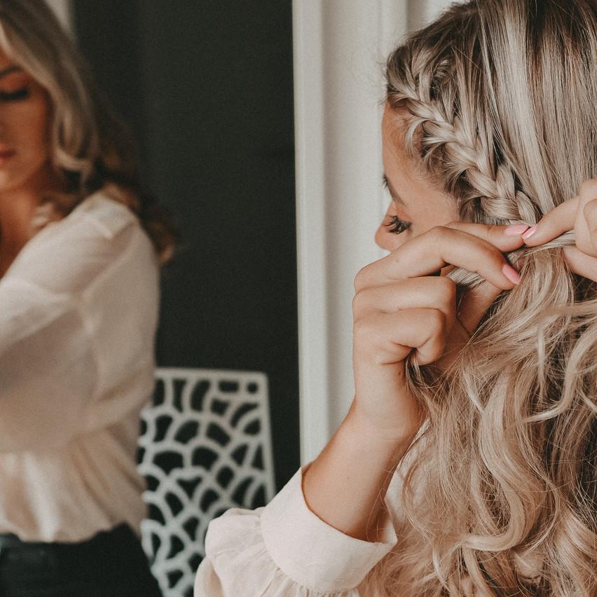 Easy Flechtfrisur für jede Haarlänge