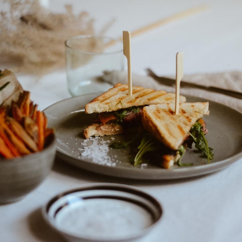 Beef-Sandwich deluxe