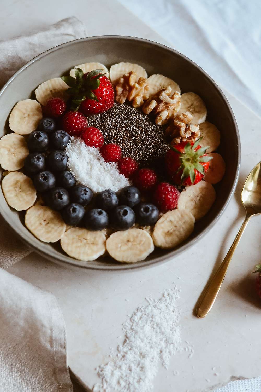 Porridge mit Nüssen & Chia Samen
