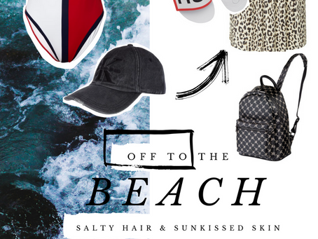 [TANLINES] OFF TO THE BEACH: SEXY SUMMER TRENDS
