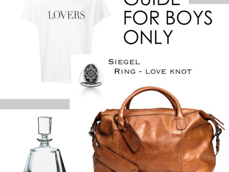 GIFT GUIDE FOR BOYS - THE VERY BEST FOR MR. RIGHT