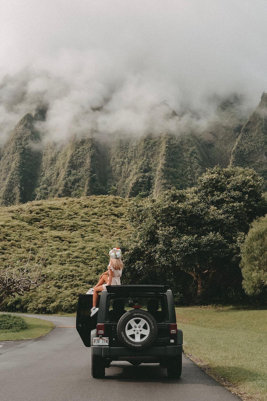 Ho´omaluhia Botanischer Garten Oahu