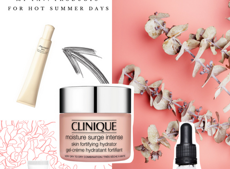 BEAUTY: 5 SKINCARE FAVES FOR SUMMER