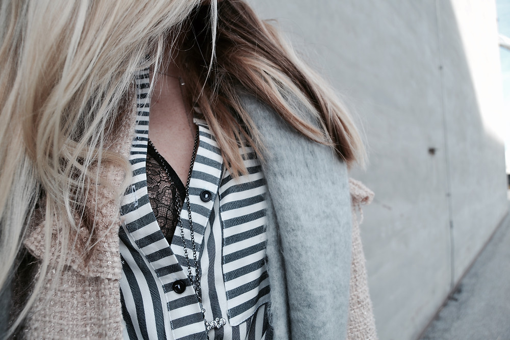 Tweedjacke & Stripes