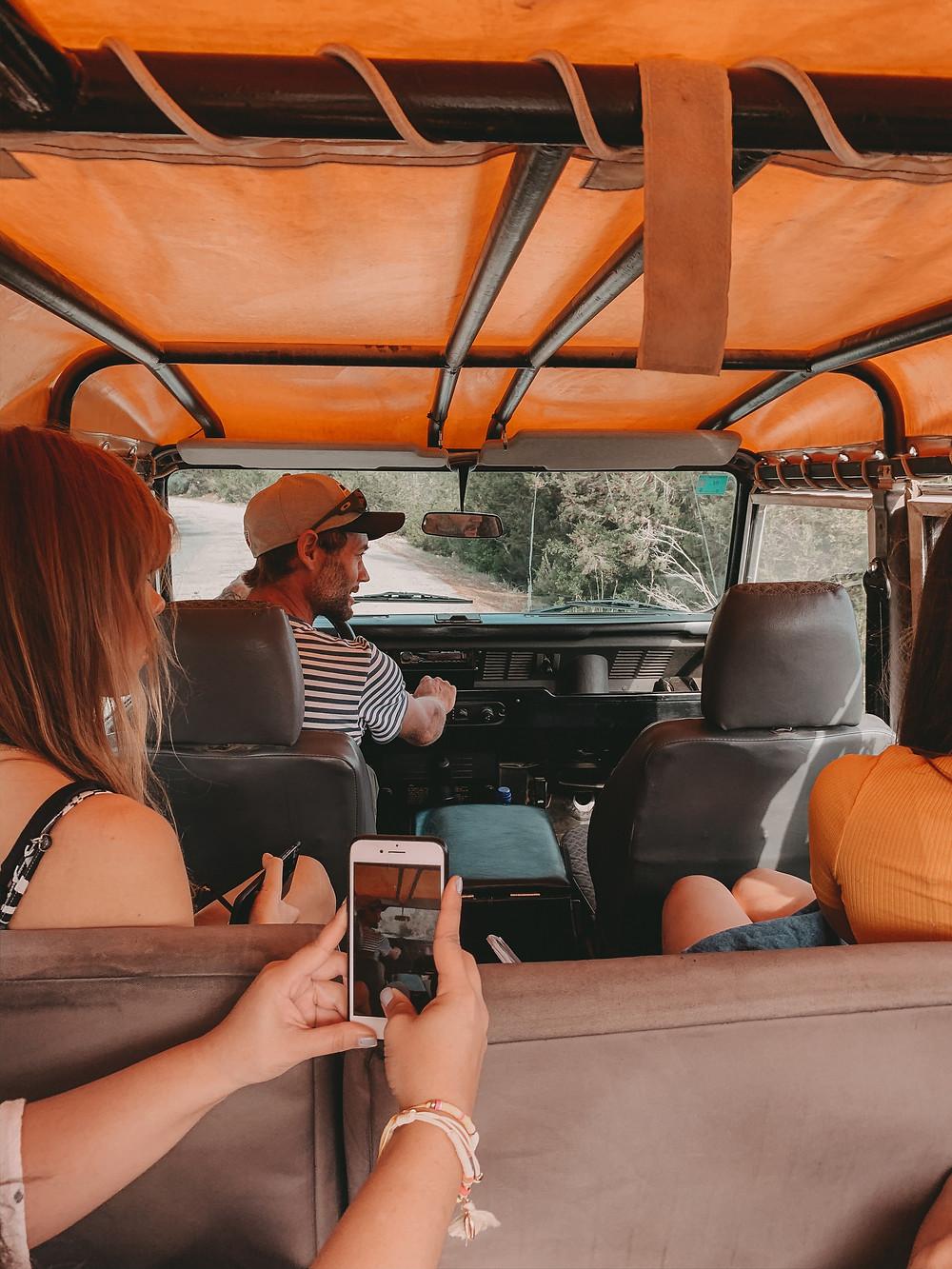 Jeep-Safari auf Ibiza