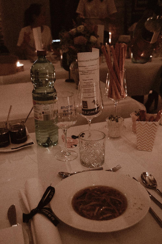 #Hoferweinreise Dinner