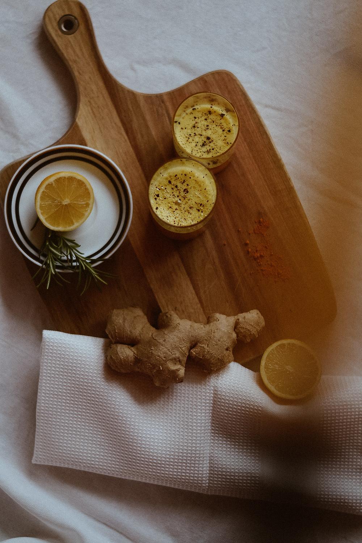 Ginger-Shot - gesund & strahlend durch die kalte Jahreszeit!