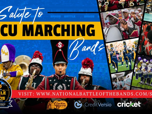 """It's a Black Music Month Encore Airing of the """"National Battle of the Bands: Salute to HBCU Marching"""
