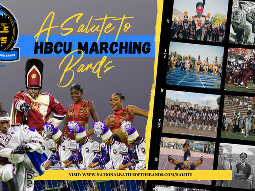"""Webber Marketing Announces """"National Battle of the Bands: Salute to HBCU Marching Bands"""" Film"""