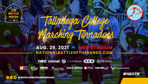 """Welcome Talladega College, """"Great Tornado Band"""" to the National Battle of the Bands' Line Up"""