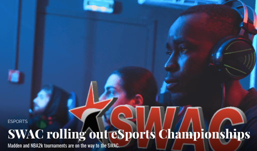 Client News: SWAC rolling out eSports Championships