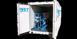 Tratamiento de agua purificada wet