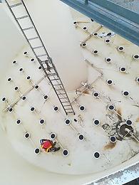 Difusores,Planta de tratamiento de aguas coats
