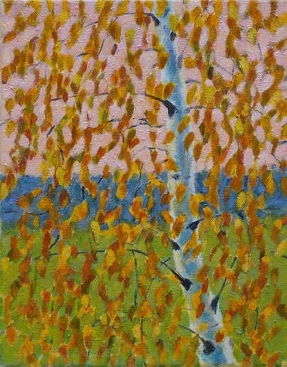Birch Tree – Autumn