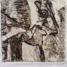 Monoprint and stitch