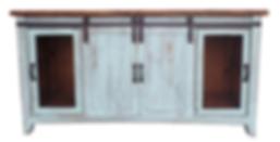 LT COM 92 P/TD - TV STAND SLIDING DOORS