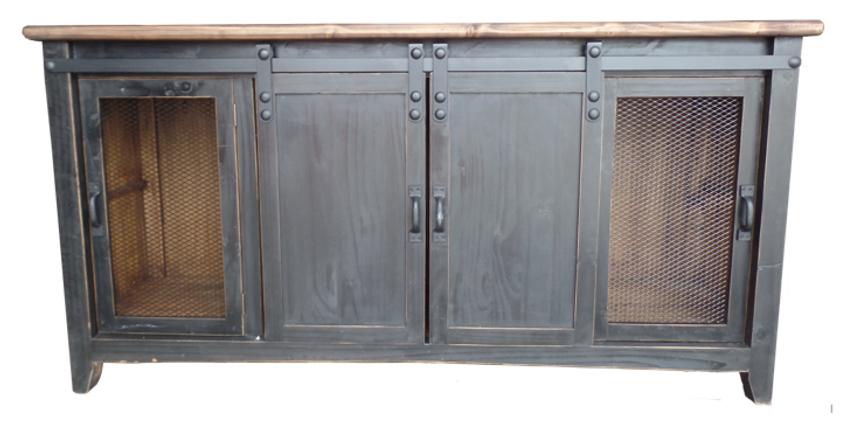 LT COM 92 P/TS - TV STAND SLIDING DOORS