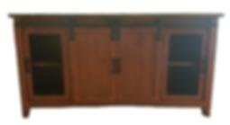 T COM 92 P/TD - TV STAND SLIDING DOORS -