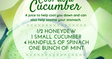 Juice: Cool as a Cucumber