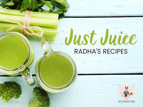 Just Juice: 75 Medicinal Recipes