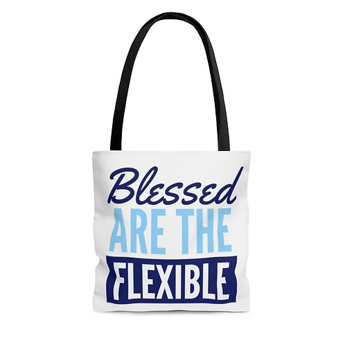 Blessed are the Flexible v3 Tote Bag
