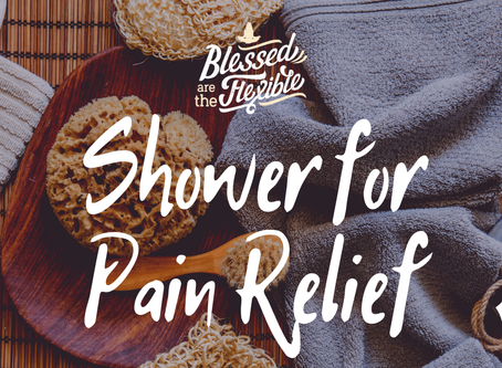 Shower Routine for Pain Relief & Detoxification
