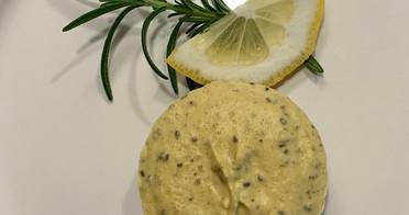 """Lemon Ginger """"Cheesecake"""""""