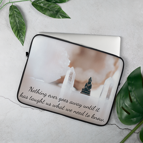 Lessons in Life Laptop Sleeve