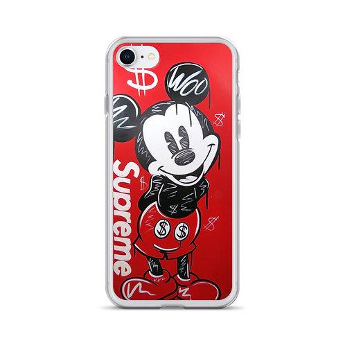 """Supreme Mickey"" Iphone Case"