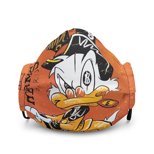 """Money McDuck"" face mask"