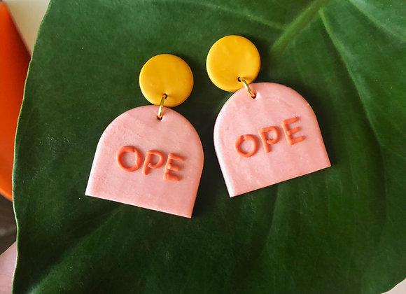 Ope earrings
