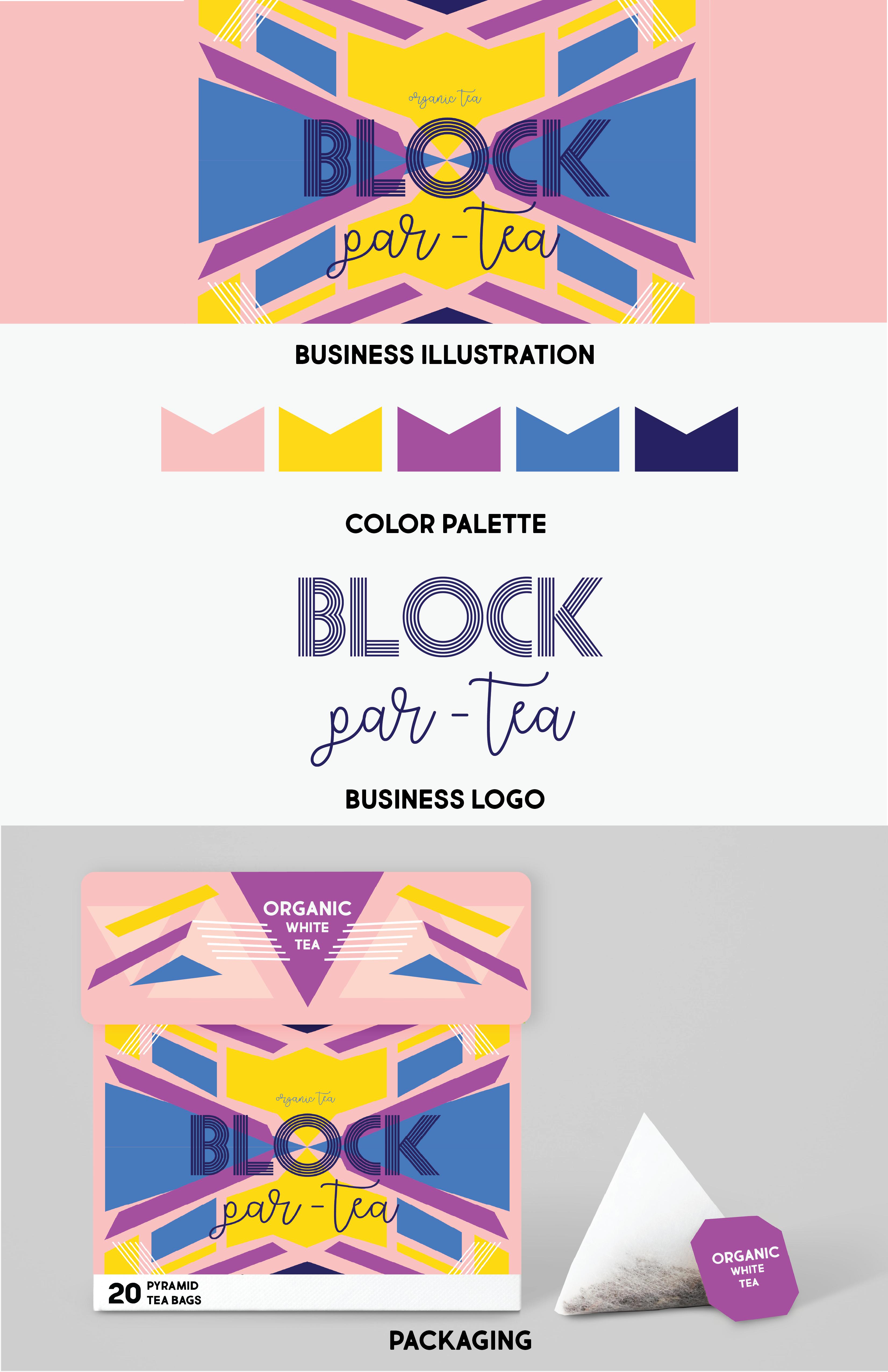 Block Par-tea Branding