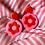 Thumbnail: Valentine's Day flower power earrings