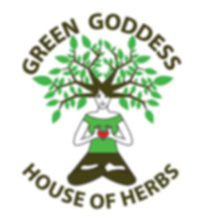 Green Goddess House of Herbs logo