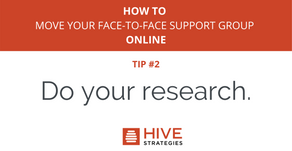 Before You Move Your Face-to-Face Support Group Online — Do This