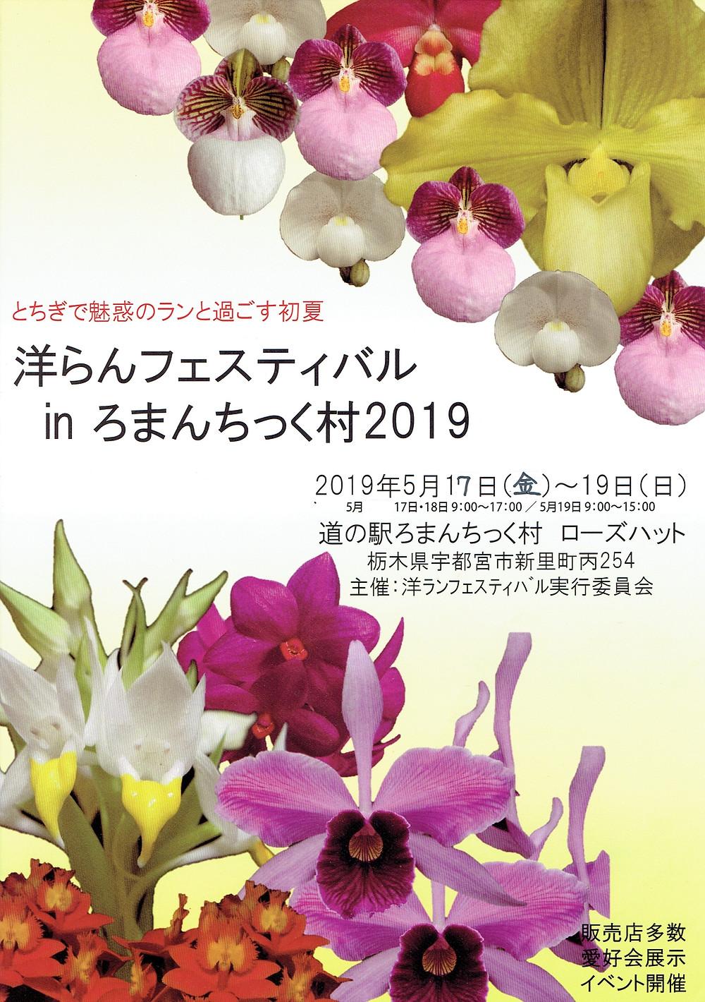 洋らんフェスティバル in ろまんちっく村2019