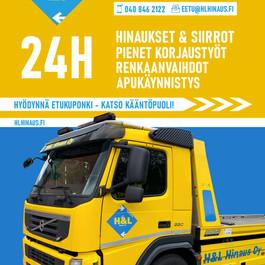 H&L Hinaus Oy_A5 Flyer__Etusivu_Vedos 1.