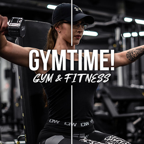 "GYMTIME! ""Gym & Fitness"" Preset Pack vol. 1"