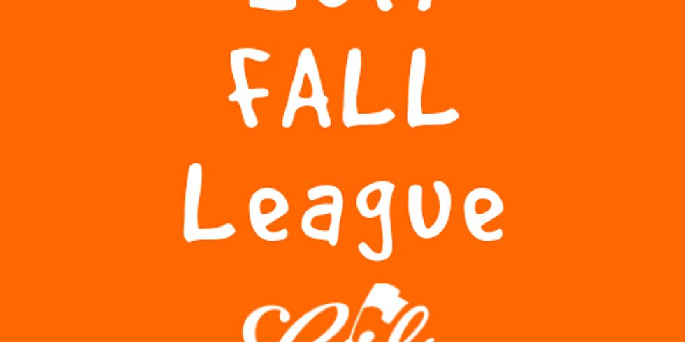 2019 Fall League - NON MEMBER