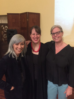 Post-concert meet-up with Kathy FitzGibb