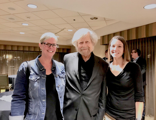 With Morten Lauridsen and Naomi LaViolet
