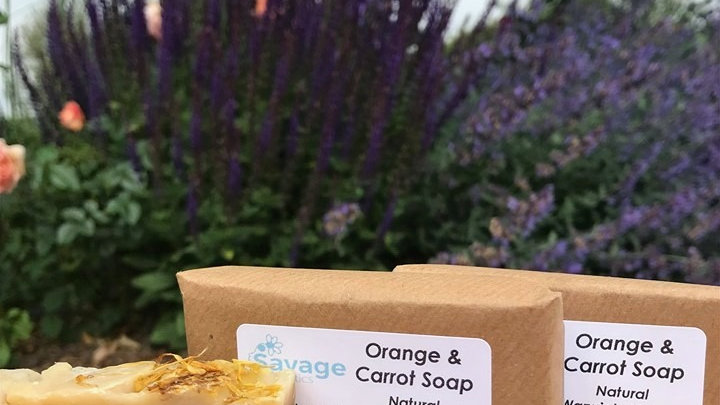 Orange & Carrot Soap
