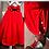 Thumbnail: Midi skirt w/double knot bow