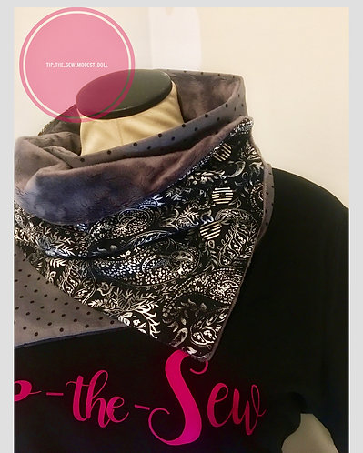 Neck warmer scarf 🧣