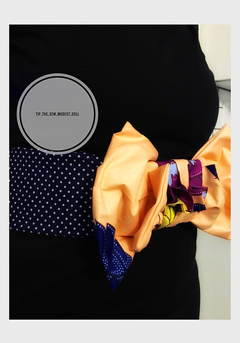 The tips bow belt