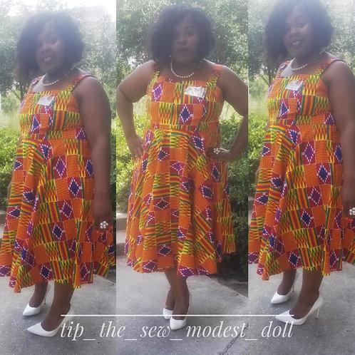 Spinderalla doll dress