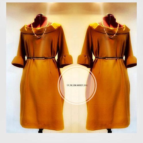 Jackie O inspired sheath dress
