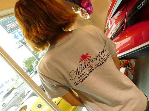 Maverick Tシャツグレー